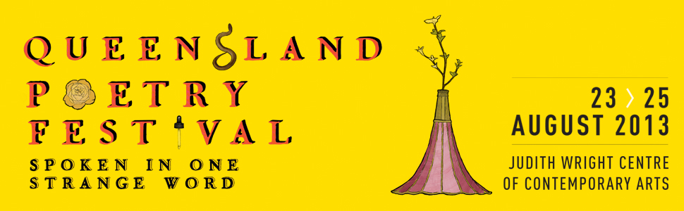Queensland Poetry Festival will run from the 23 to the 25 of August. Image: Queensland Poetry Festival.