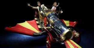 Chitty Chitty Bang Bang has flown into Brisbane. Image: John Fotiadis.