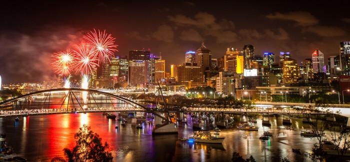 Js new date in Brisbane