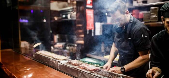Bincho yakitori restaurant bar is open for businessthe