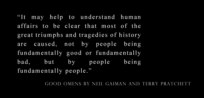 Review: Good Omens by Neil Gaiman and Terry Pratchett