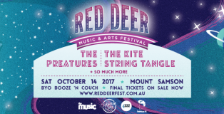 Red Deer Music and Arts Festival 2017 banner