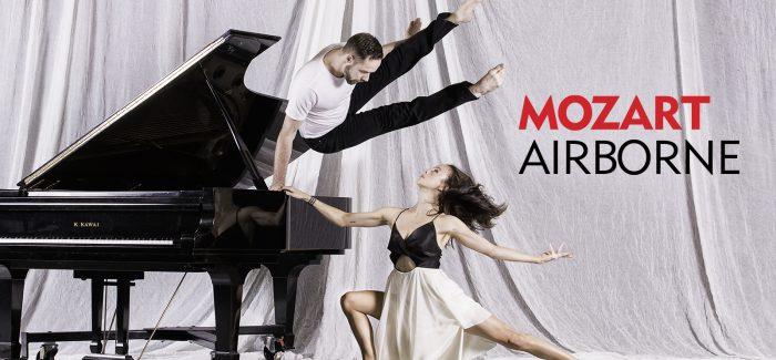 Dancers take flight in Mozart Airborne