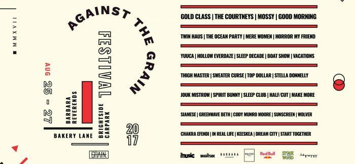 AGAINST THE GRAIN FESTIVAL 2017