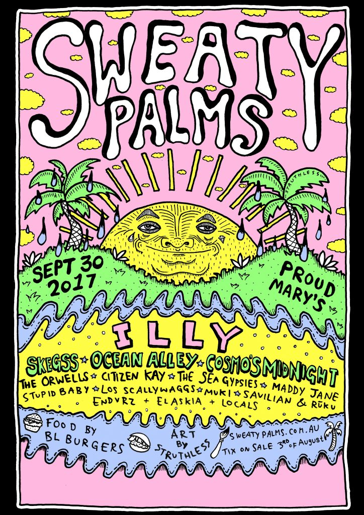 sweaty palms 2017 v6