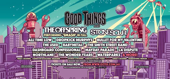 Good Things Festival Announce Local Supports and Set Times