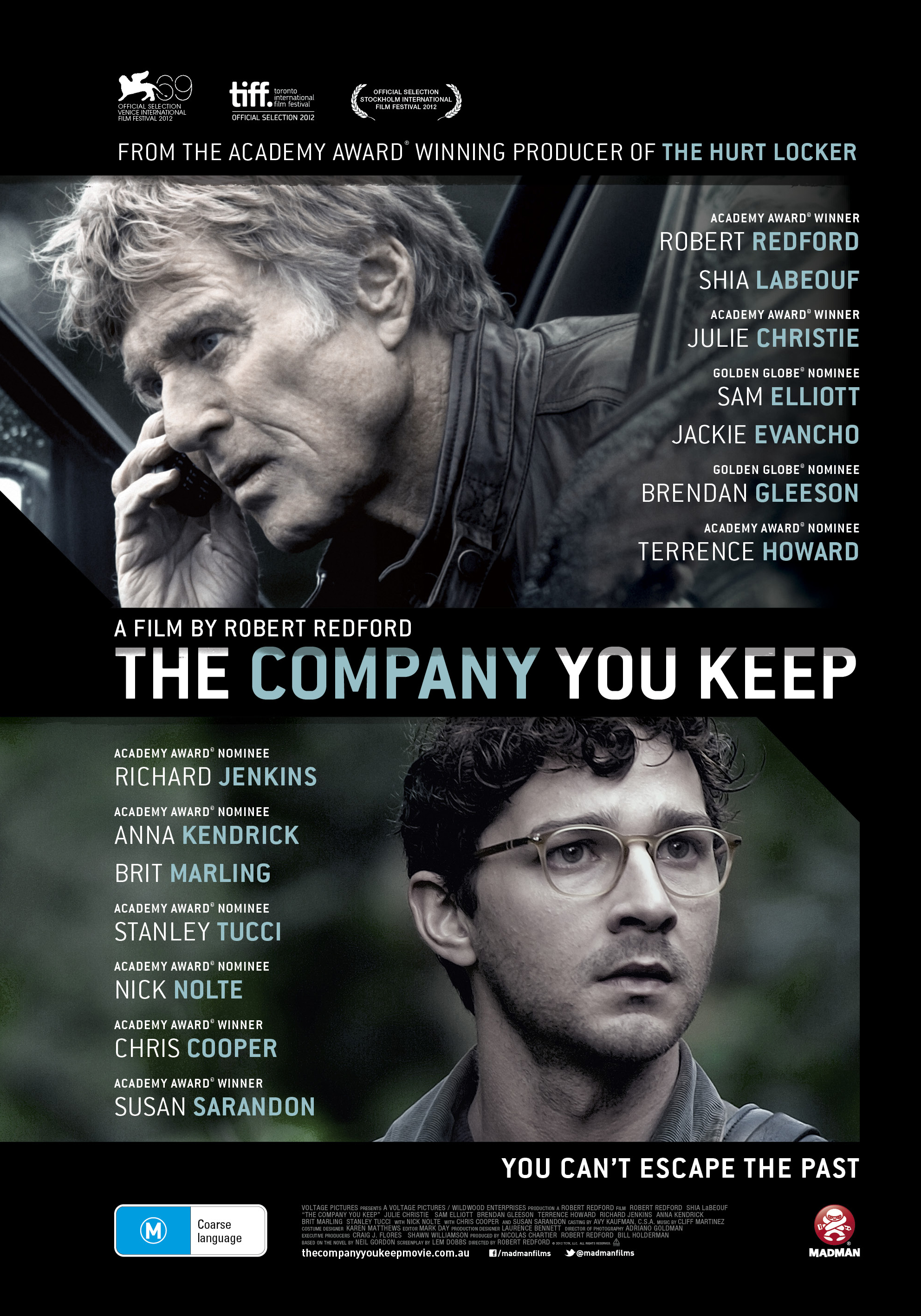 The Company You Keep, Movie Review