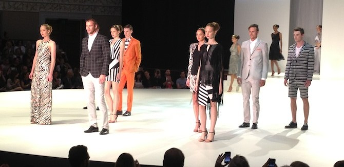 MBFF Myer Spring Summer 14 Fashion Show
