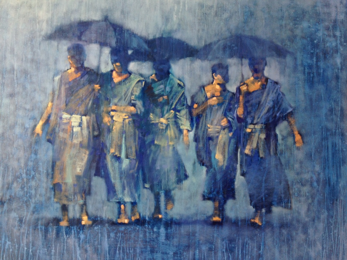 """David Hinchliffe's """"Reflections"""": Art for a Good Cause"""