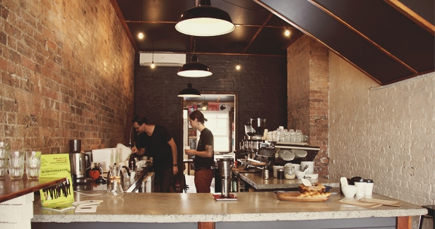 Reverends Fine Coffee is a heavenly experience