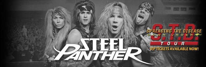Steel Panther: Down Under Tour