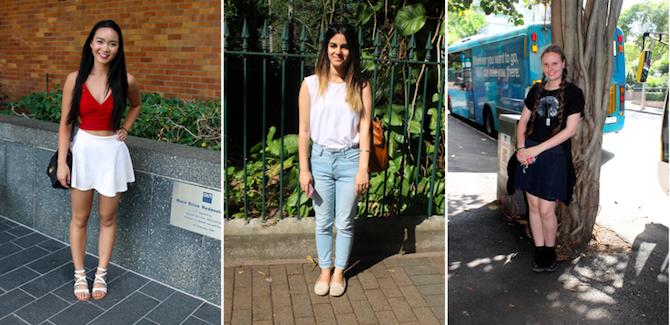 Brisbane street style – Gardens Point Campus