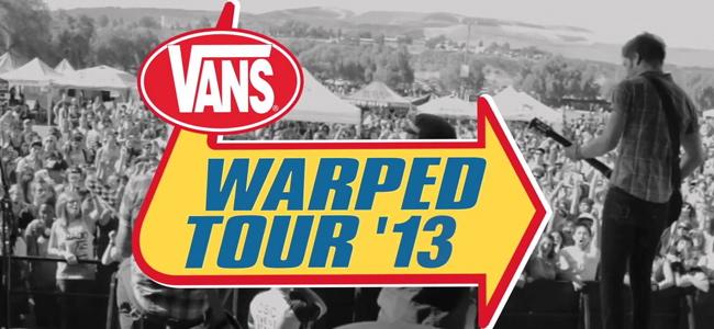 Vans Warped Australian Tour 2013