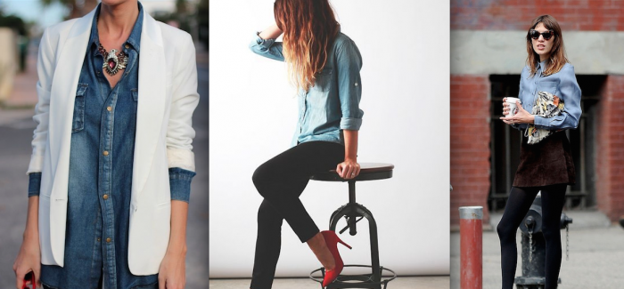 Must Have: The Chambray Shirt