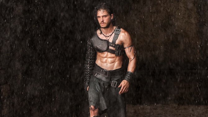 Pompeii: One hot dude, a small battle, large serve of Lava