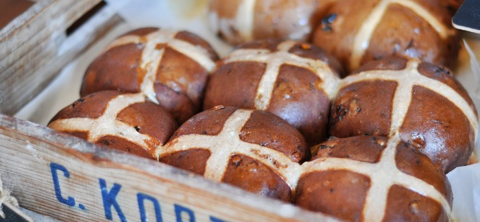 Chester Street delivers Hot Cross Buns for Easter