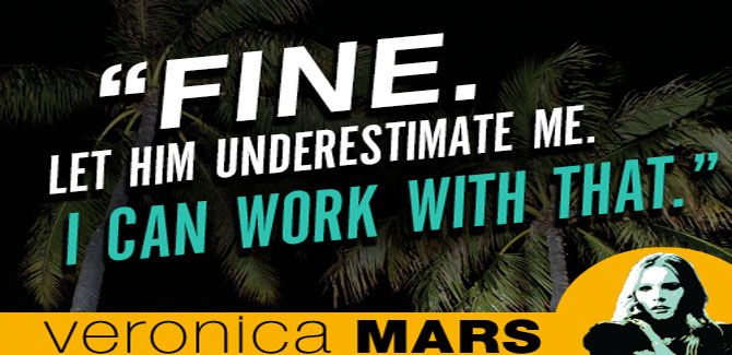Book Review: Veronica Mars, The Thousand Dollar Tan Line