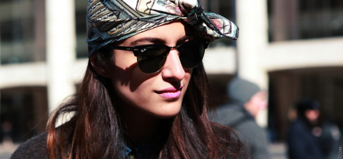 Spring's Biggest Accessory: The Head Scarf