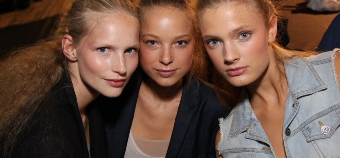 Barely-there Beauty : NYFW