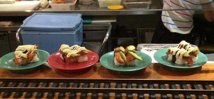 $3 Sushi at Stones Corner's Sushi Railway