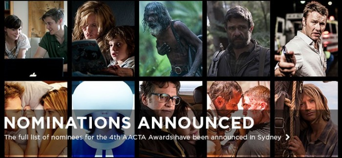 AACTA Nominations Are In
