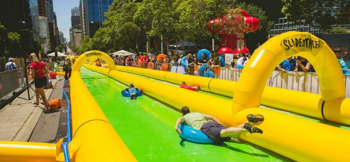 Two Giant Slip And Slides Coming To Melbourne