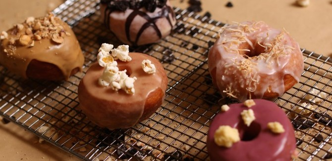 Win a box of doughnuts for every week of the year!