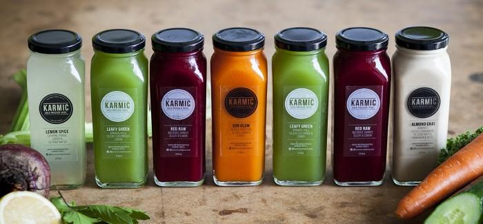 The Karmic Cold Pressed Juice Detox