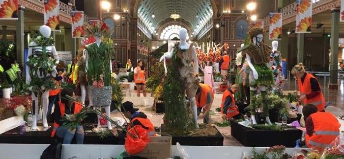 RMIT Floral Fashion Competition