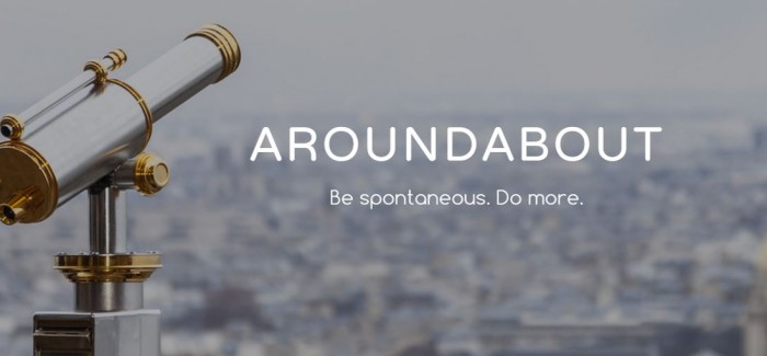 AroundAbout: the new travel app