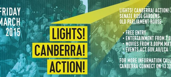 The Conclusion of Lights! Canberra! Action! 2015
