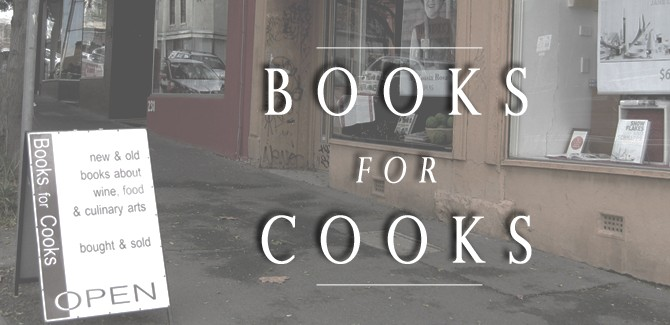Books for Cooks: A Fitzroy Delight