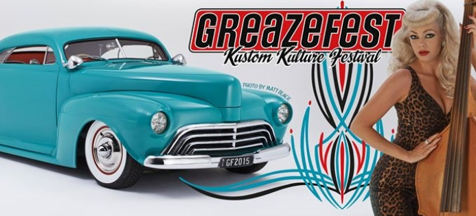 Start your engines for Greazefest 2015