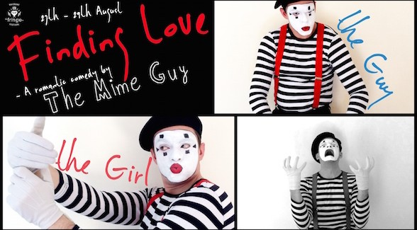 "Interview: Peter Wilson The Mime Guy on ""Finding Love"""