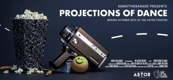 6am at the Garage presents: Projections of Dance