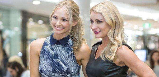 Anna Heinrich and Liz Cantor know their races fashion