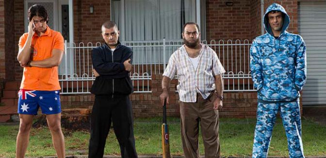 Riotous comedy: Down Under