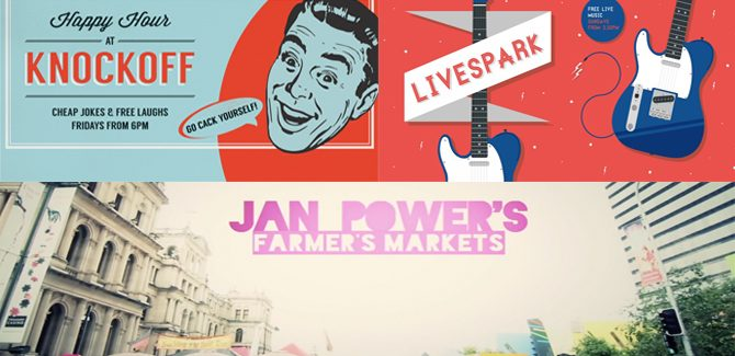 Weekends @ The Brisbane Powerhouse: Comedy, markets, music