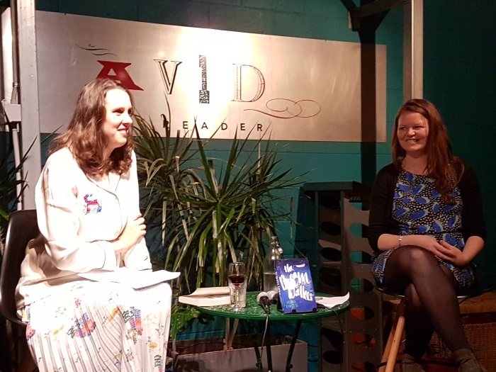 Victoria Carless author of 'The Dream Walker' in conversation with Kate Stephens, publisher at Hachette