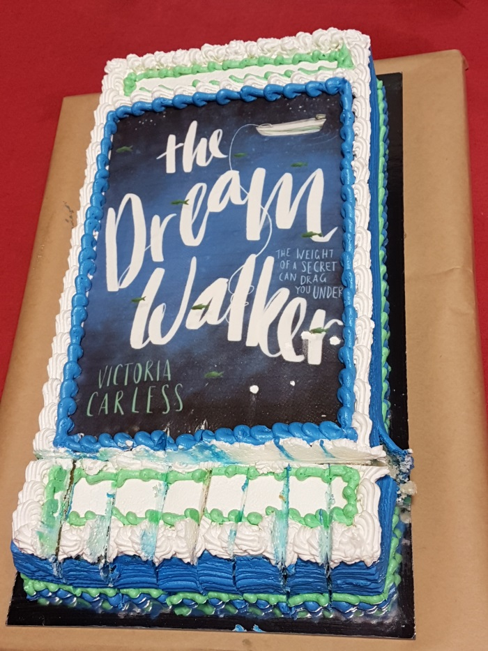 Avid Reader Bookshop celebrates the release of 'The Dream Walker' with cake