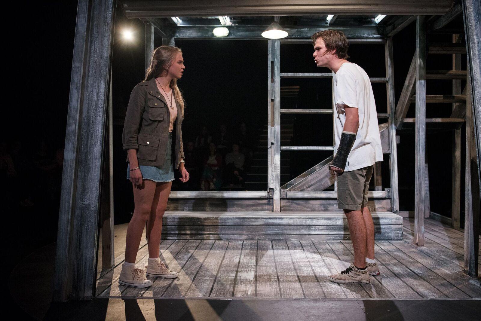 La Boite Theatre Company's Blackrock. Pictured Jessica Potts