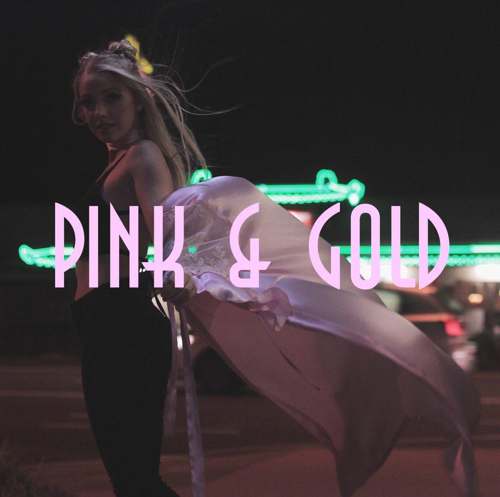 Rhea Robertson Pink and Gold