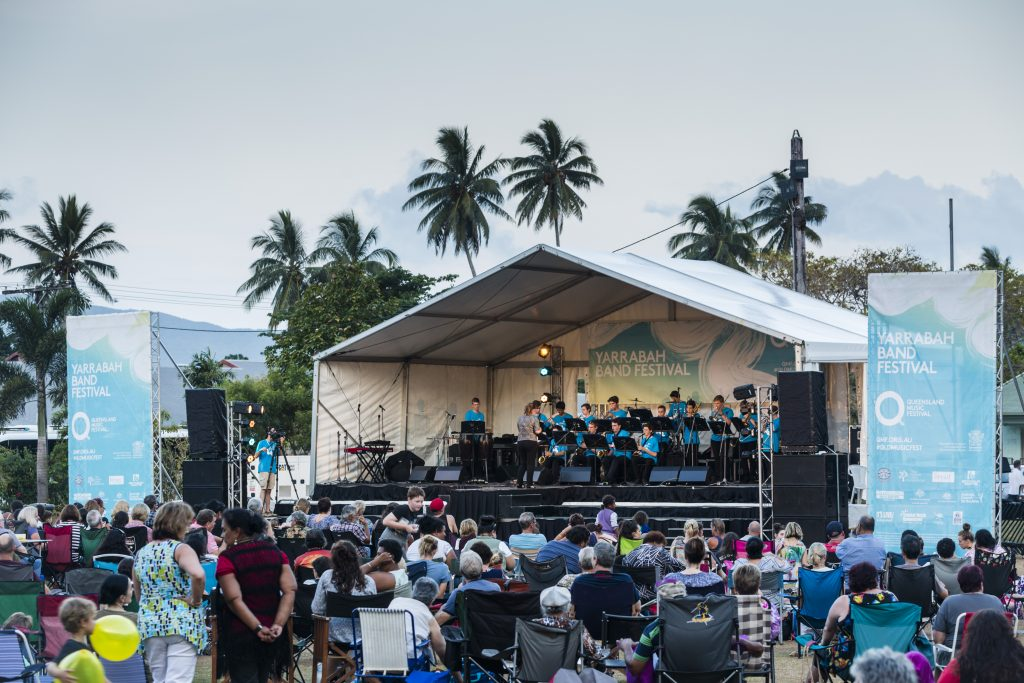 Photography for Queensland Music Festival: Yarrabah Band Festival, 5 Nov 2016.