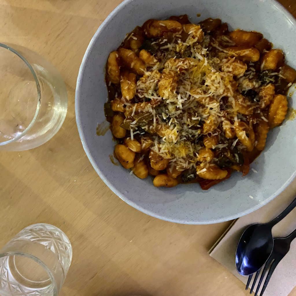 CJ's Secret Pasta Club: Sweet Potato Gnocchi