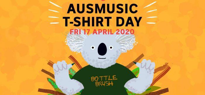Aus Music T-Shirt Day This Friday