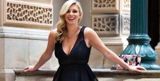 Brooke wearing black dress smiling