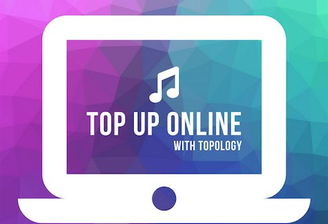 Topology Top Up Online Teaches Music from Home