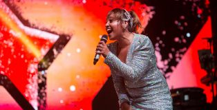 Jessica Mauboy performing at the 2019 NIMA awards