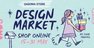 QAGOMA design market online shop advertisement