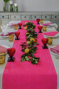 Table Setting from Aqua Door Designs